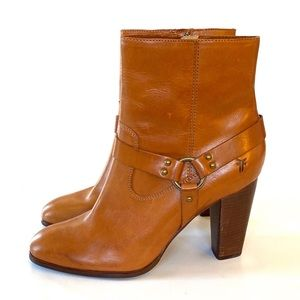 EUC Laurie Harness Short : Heeled Boots Tan